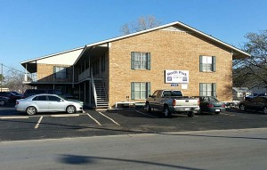 North Park apartments are just across the street from the Tarleton State University campus.