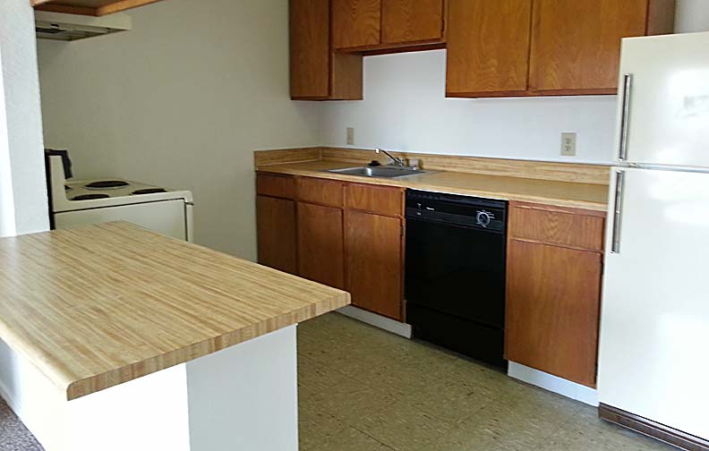 Go Green and walk to class with this one bedroom apartment