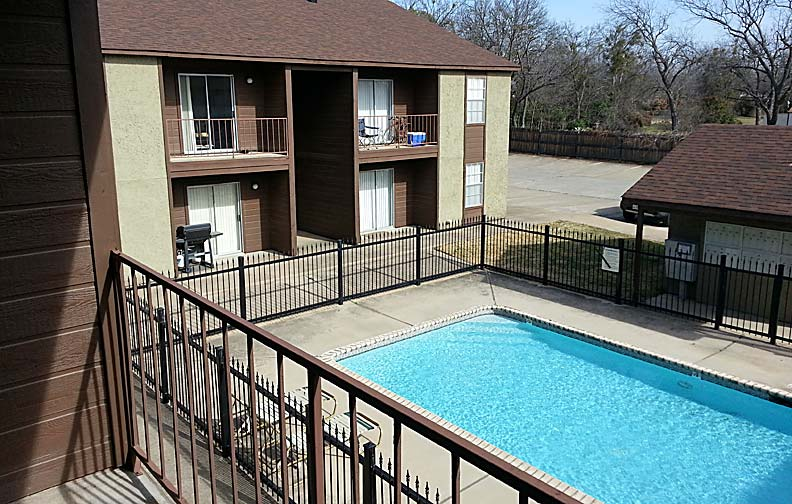 Texan Terrace apartments near Tarleton State University