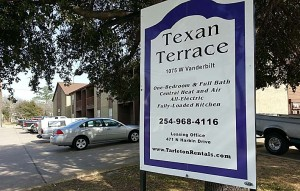 Texan Terrace One bedroom and one bath just two blocks from the Tarleton State University campus.