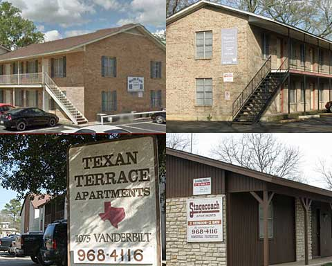 Student lease for apartment rental near Tarleton